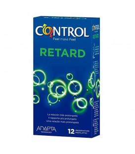 Preservativos Control Retardantes lubricados 12 unds Mastersex