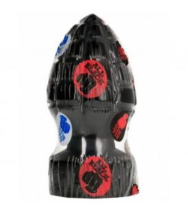All Black AB33 Andreas Plug anal granada de vinilo 14 x 6.5 cm Mastersex