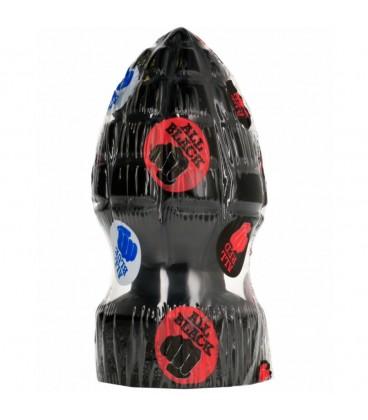 Dildo All black AB33 en forma de granada