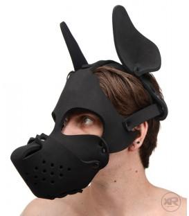 XR Puppy Play Máscara de Perro Neopreno con bozal extraíble Mastersex