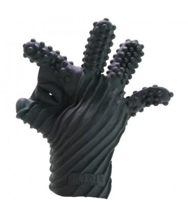 Fist it guante para masturbación de silicona con texturas