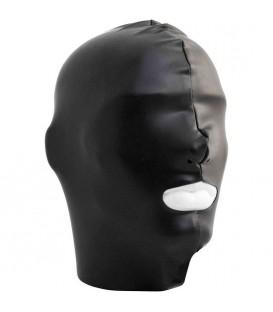 Mister B Capucha BDSM para sumisos de Datex con abertura en la boca