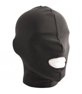 Mister B Máscara de sumiso con abertura solo en la boca de lycra