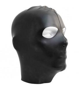 Capucha BDSM fetichista para sumisos con abertura ojos de Datex de Mister B
