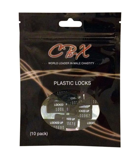 CB-X candados desechables para cinturones de castidad
