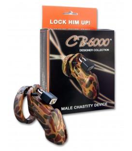 Cinturón de castidad CB 6000 Camuflaje de policarbonato