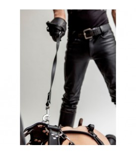 MISTER B LEATHER DOG LEASH