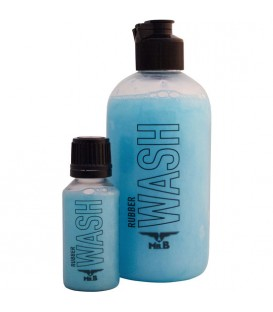 Mister B WASH detergente especial para ropa y juguetes de látex