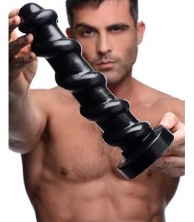 Screw Dildo en forma de tuerca negro de 30 cms de Master Series Mastersex
