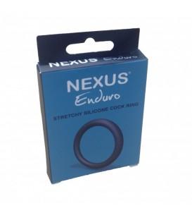 Nexus Enduro Cockring de silicona elástica para pene y testículos