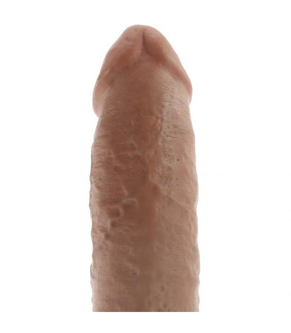 """King Cock 10"""" Pene Realístico con Testículos 25,5 cm"""