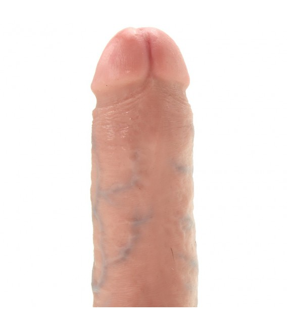 """King Cock 8"""" Dildo Realístico con testículos y ventosa 21 cms Mastersex"""