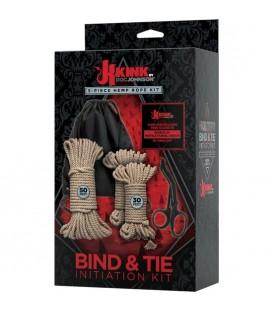 kit bondage iniciación 5 piezas kink doc johnson
