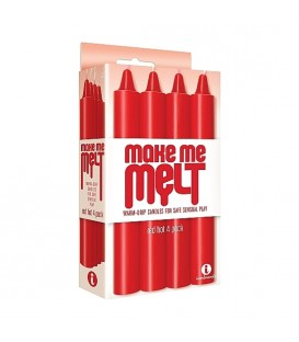 Make Me Melt Velas BDSM color Rojo Icon Brands