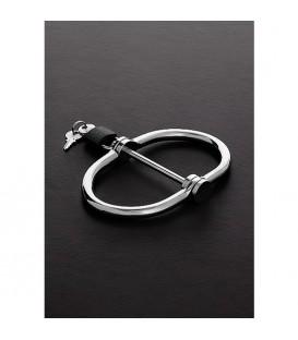 Esposas bondage forma D dobles de acero - Double D Handcuffs