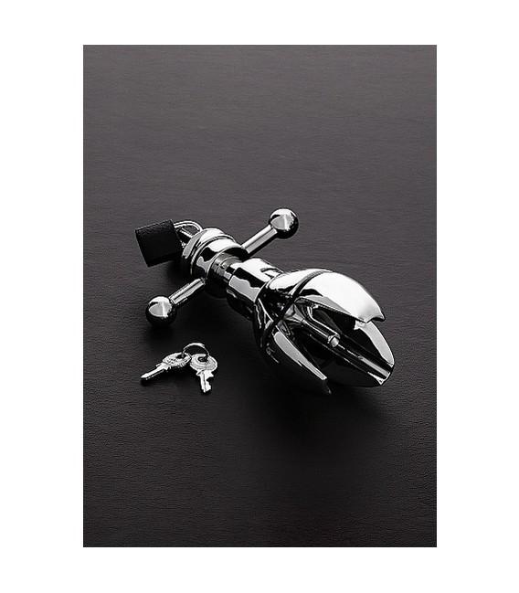 Asslock cinturón de castidad anal de acero