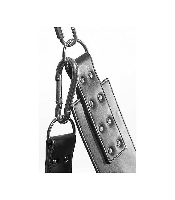 Extreme Sling de cuero con cadenas BDSM