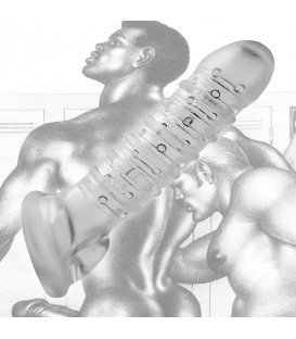 Tom of Finland Funda de Pene Transparente 19 cm