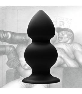Plug anal de silicona con peso de la marca Tom of Finland