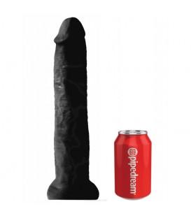 Chubby consolador gigante realista King Cock con ventosa 33 cm