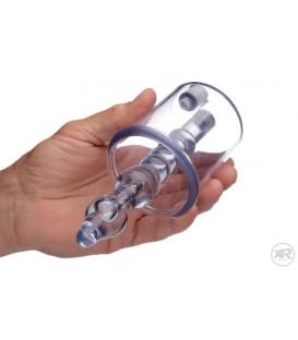 Anal Rosebud cilindro de succión para el culo con dildo estimulador de Tom of Finland