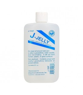 Lubricante J-JELLY Flask a base de agua premezclado 240 ml