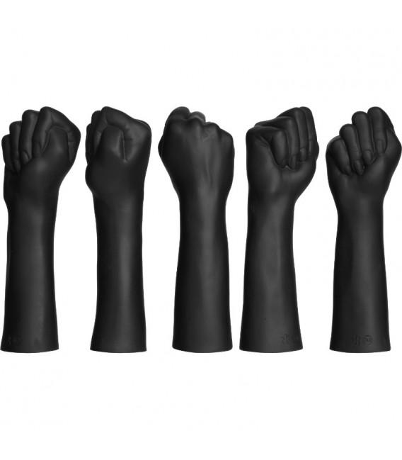 kink fist fuckers closed fist dildo en forma de puño de silicona doble densidad