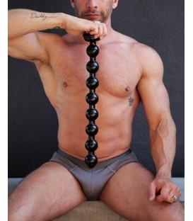 Brutal consolador anal con bolas anales y ventosa 50 cm