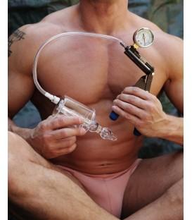 Cilindro Bomba anal con estimulador