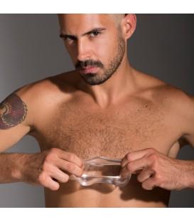 Junk Pusher anillo para el pene flexible efecto realza paquetes