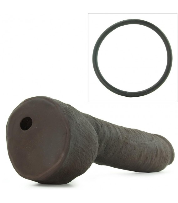 UR3 HUNG【Dildo Gigante 30cm】Negro Vac-U-Lock Doc Johnson