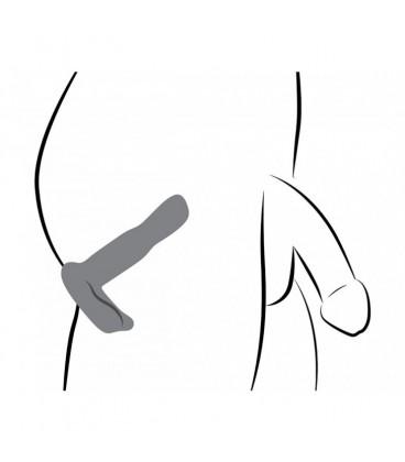 Vibrador Prostático de Silicona con Control Remoto