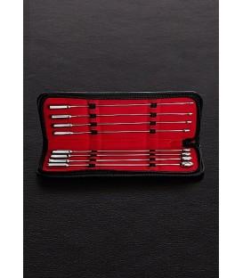 Rosebud 8 dilatadores de uretra de 30 cms de largo fabricados en acero