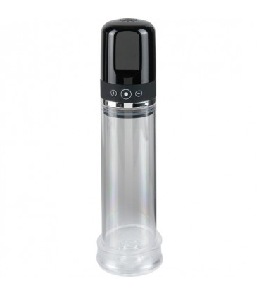Pump Worx Bomba de Pene Auto-Vacuum Recargable cilindro transparente