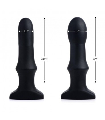 Swell 2.0 Plug anal vibrador inflable con control remoto Prostatic Play
