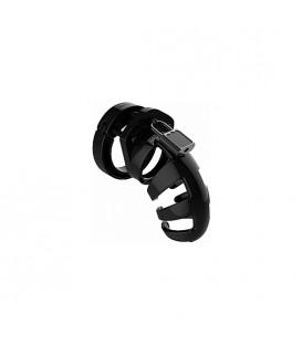 ManCage Model 02 Jaula de Castidad 9 cm negro transparente