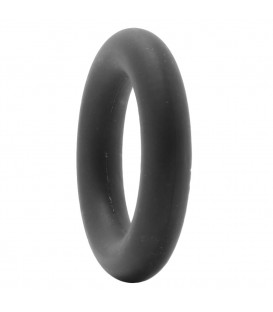 Enduro + thick Anillo Pene de Silicona flexible negro
