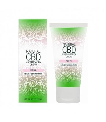 Natural CBD Crema de Masturbación Masculina Cannabis