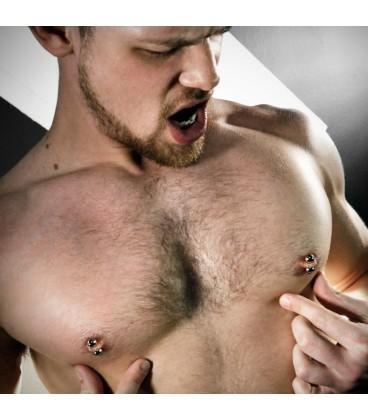 Magnus bolas de piercing magnéticos para pezones y pene