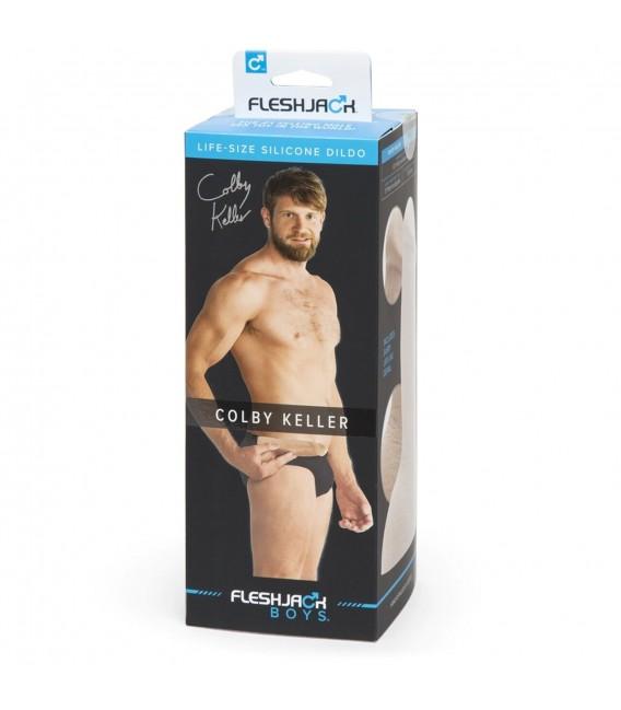 Pene Realístico Colby Keller con testículos 19 cm Fleshjack Boys