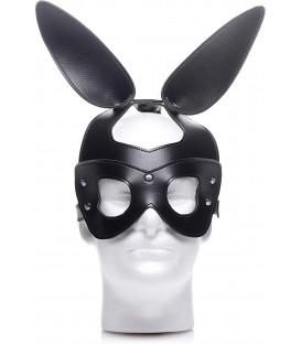 Bad Bunny Máscara Fetichista conejo de cuero vegano