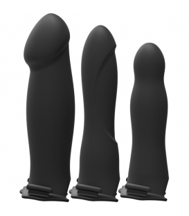 Body Extensions™ BE Ready Arnés con Dildo Hueco silicona