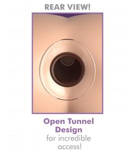 Glass Gaper Mega Plug Tunel Anal de cristal 10 cm Pipedream