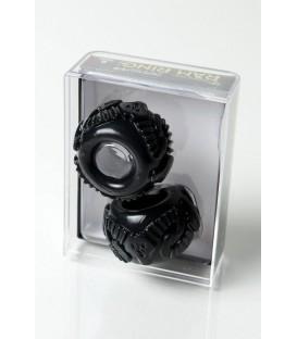 Ram Ring Kit de Anillos para pene y testículos negro