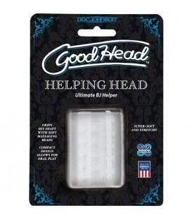 Masturbador ultrarealista GoodHead ULTRASKYN Helping Head