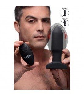 Missile Plug Anal Control Remoto Inflable 10X