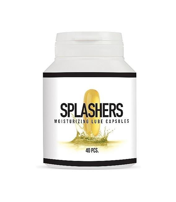 Splashers Lubricante Anal en Cápsulas
