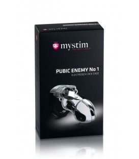 Pubic Enemy Nº 1 Dispositivo Castidad E-stim Mystim