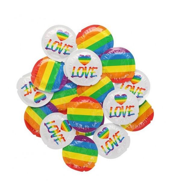EXS Rainbow Pride Preservativos 100 und
