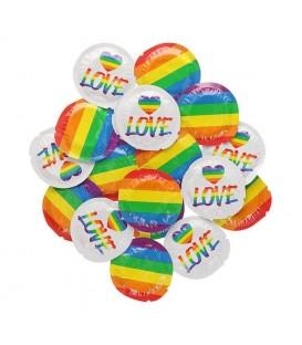 EXS Rainbow Pride Condones 100 und.